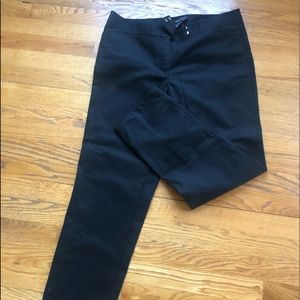 Black White House Black Market pants